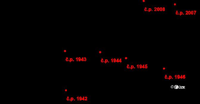 Nové Město 1944, Praha na parcele st. 1096 v KÚ Nové Město, Katastrální mapa