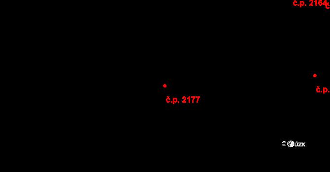 Horní Litvínov 2177, Litvínov na parcele st. 811/6 v KÚ Horní Litvínov, Katastrální mapa