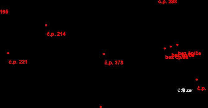 Liberec XIII-Nové Pavlovice 373, Liberec na parcele st. 237/3 v KÚ Nové Pavlovice, Katastrální mapa
