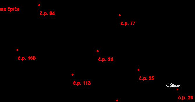 Liberec V-Kristiánov 24, Liberec na parcele st. 1062 v KÚ Liberec, Katastrální mapa