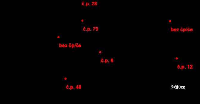 Salaš 6, Zlín na parcele st. 114 v KÚ Salaš u Zlína, Katastrální mapa