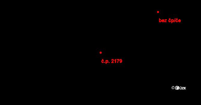 Doly 2179, Karviná na parcele st. 7177/2 v KÚ Karviná-Doly, Katastrální mapa