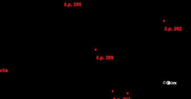 Nová Role 299 na parcele st. 1272 v KÚ Nová Role, Katastrální mapa