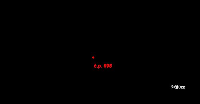 Hlubočky 224 na parcele st. 89 v KÚ Hlubočky, Katastrální mapa