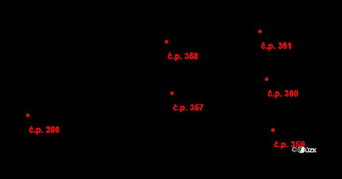 Valcha 357, Plzeň, Katastrální mapa