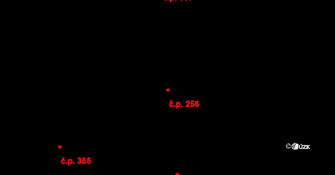 Brno-město 256, Brno na parcele st. 494 v KÚ Město Brno, Katastrální mapa