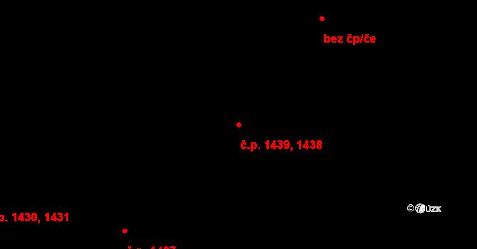 Kateřinky 1438,1439, Opava na parcele st. 2253 v KÚ Kateřinky u Opavy, Katastrální mapa