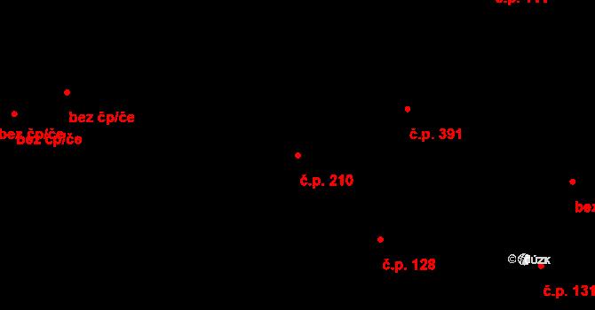 Liberec VII-Horní Růžodol 210, Liberec na parcele st. 90 v KÚ Horní Růžodol, Katastrální mapa