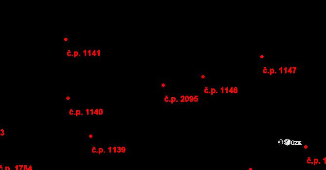 Nové Město 2095, Praha na parcele st. 240 v KÚ Nové Město, Katastrální mapa