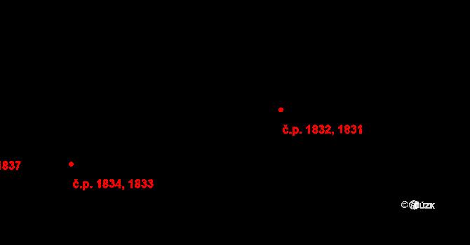 Břevnov 1832, Praha na parcele st. 3477/165 v KÚ Břevnov, Katastrální mapa