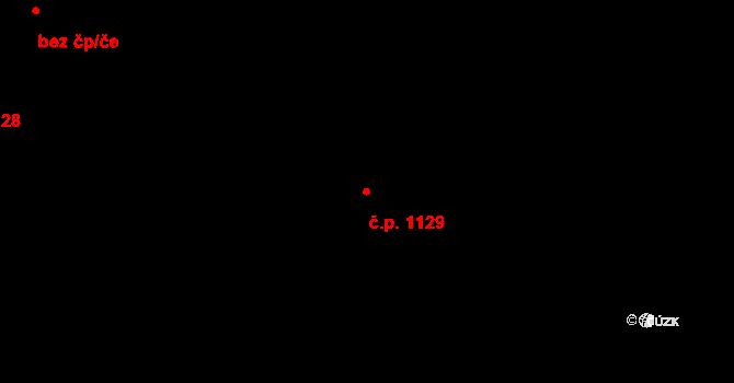 Stonava 1129 na parcele st. 3244/55 v KÚ Stonava, Katastrální mapa