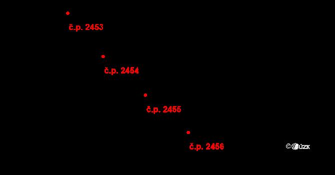Brandýs nad Labem 2455, Brandýs nad Labem-Stará Boleslav na parcele st. 3176 v KÚ Brandýs nad Labem, Katastrální mapa