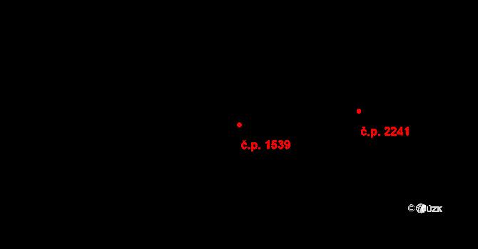 České Budějovice 3 1539, České Budějovice na parcele st. 3874 v KÚ České Budějovice 3, Katastrální mapa