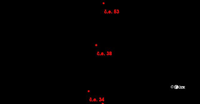 Sovoluská Lhota 38, Lipoltice na parcele st. 163/13 v KÚ Sovoluská Lhota, Katastrální mapa