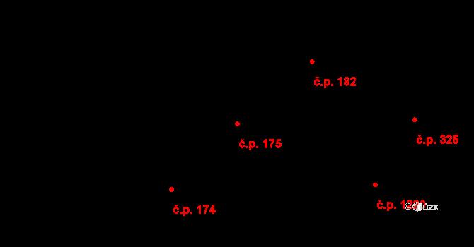 Mladá Boleslav II 175, Mladá Boleslav na parcele st. 820 v KÚ Mladá Boleslav, Katastrální mapa