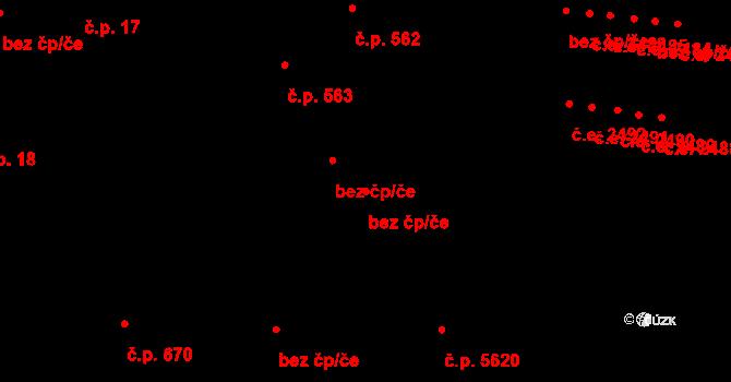 Jihlava 50455761 na parcele st. 1414/2 v KÚ Jihlava, Katastrální mapa