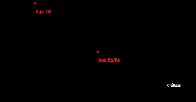 Dubné 46935762 na parcele st. 57 v KÚ Třebín, Katastrální mapa