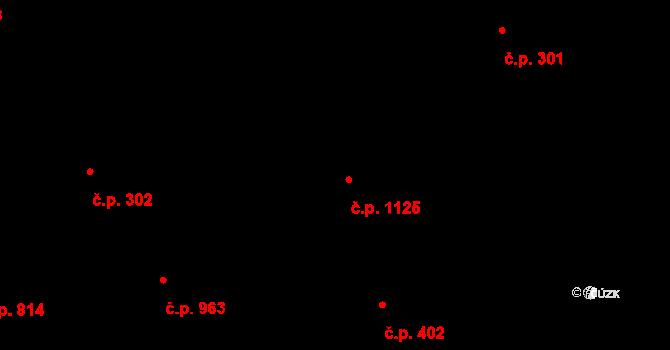Vlašim 1125 na parcele st. 1765 v KÚ Vlašim, Katastrální mapa
