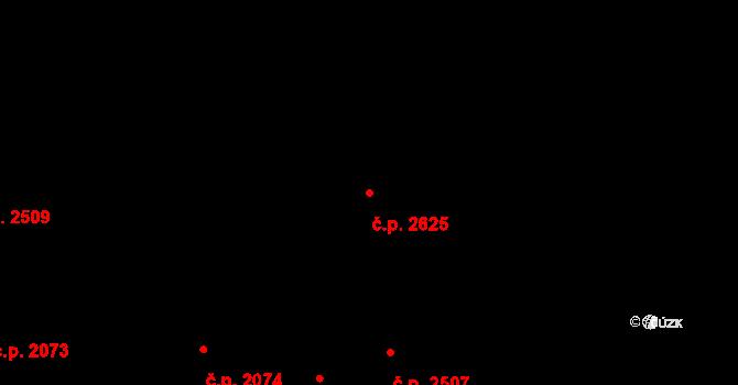 Nětčice 2625, Kyjov na parcele st. 183/2 v KÚ Nětčice u Kyjova, Katastrální mapa