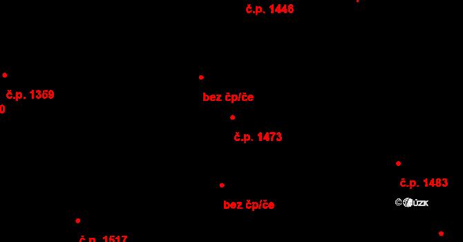 Kylešovice 1473, Opava na parcele st. 2724/159 v KÚ Kylešovice, Katastrální mapa