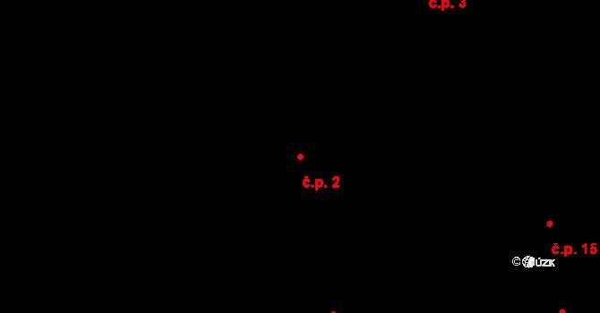 Hrazená Lhota 2, Vlašim na parcele st. 21 v KÚ Hrazená Lhota, Katastrální mapa