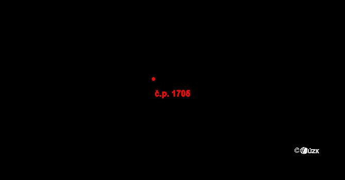 Řepy 1705, Praha na parcele st. 1142/860 v KÚ Řepy, Katastrální mapa