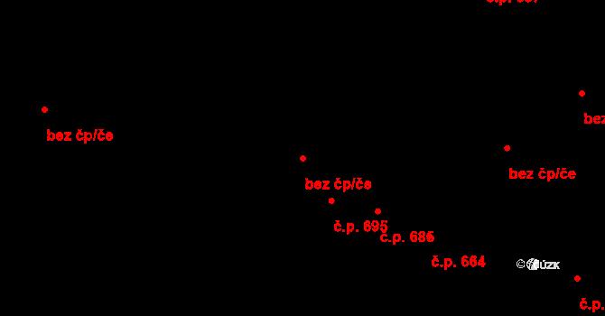 Újezd u Brna 46085777 na parcele st. 1910 v KÚ Újezd u Brna, Katastrální mapa