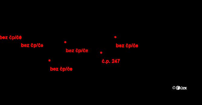 České Budějovice 4 247, České Budějovice na parcele st. 1028/1 v KÚ České Budějovice 4, Katastrální mapa