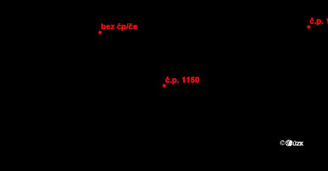 Prachatice II 1150, Prachatice na parcele st. 2342/1 v KÚ Prachatice, Katastrální mapa