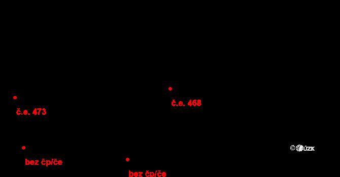 Frýdlant 468, Frýdlant nad Ostravicí na parcele st. 2237/25 v KÚ Frýdlant nad Ostravicí, Katastrální mapa