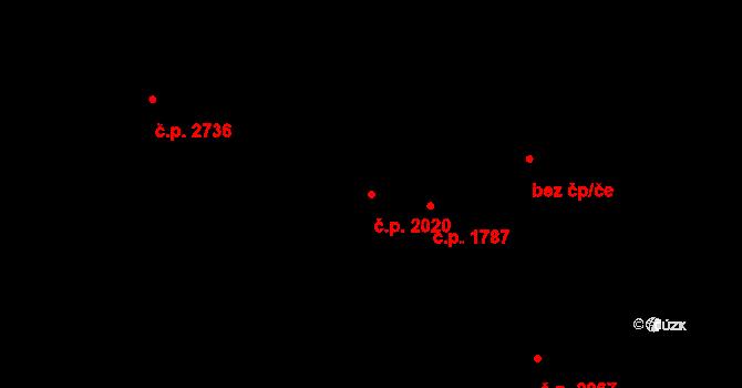Smíchov 2020, Praha na parcele st. 4662 v KÚ Smíchov, Katastrální mapa