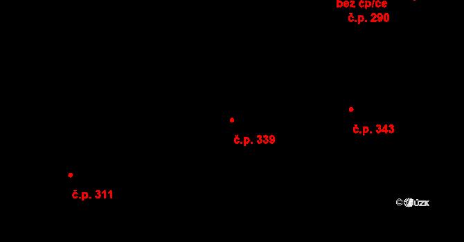Nová Role 339 na parcele st. 1410 v KÚ Nová Role, Katastrální mapa