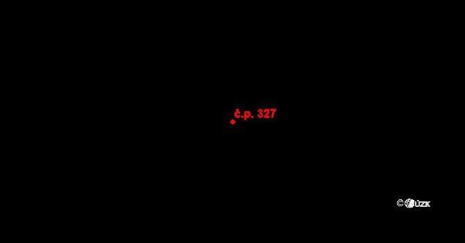 Řepčín 327, Olomouc na parcele st. 633 v KÚ Řepčín, Katastrální mapa