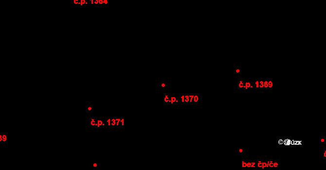 Nusle 1370, Praha na parcele st. 399 v KÚ Nusle, Katastrální mapa