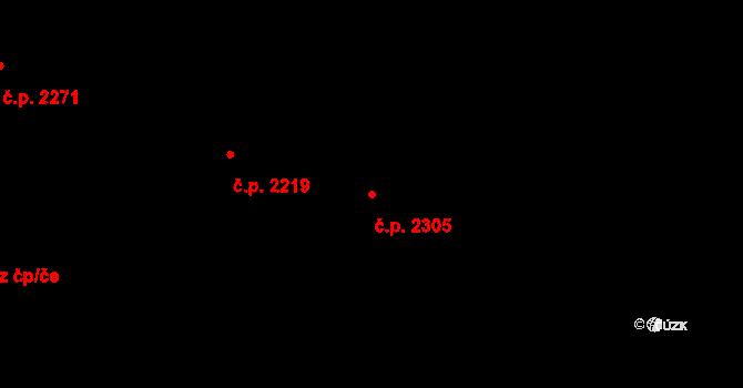 České Budějovice 7 2305, České Budějovice na parcele st. 3340/331 v KÚ České Budějovice 7, Katastrální mapa