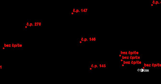Liberec XII-Staré Pavlovice 146, Liberec na parcele st. 433 v KÚ Staré Pavlovice, Katastrální mapa