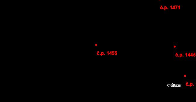 Holešovice 1455, Praha, Katastrální mapa