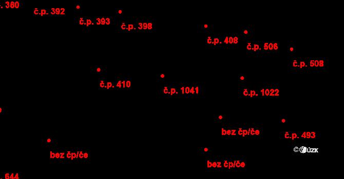 Rybáře 1041, Karlovy Vary na parcele st. 227/3 v KÚ Rybáře, Katastrální mapa