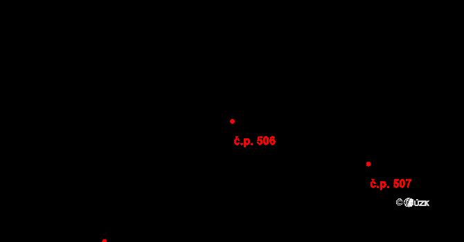 Horní Těrlicko 506, Těrlicko na parcele st. 985 v KÚ Horní Těrlicko, Katastrální mapa
