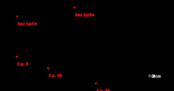 Brod nad Tichou 59 na parcele st. 39/2 v KÚ Brod nad Tichou, Katastrální mapa