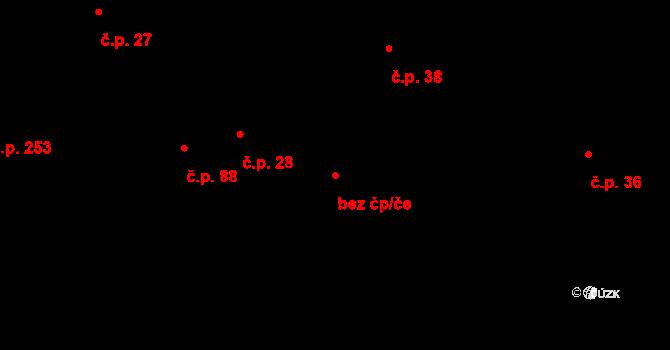 Pohled 88243818 na parcele st. 464 v KÚ Pohled, Katastrální mapa