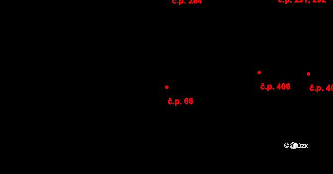 Smíchov 66, Praha na parcele st. 300 v KÚ Smíchov, Katastrální mapa