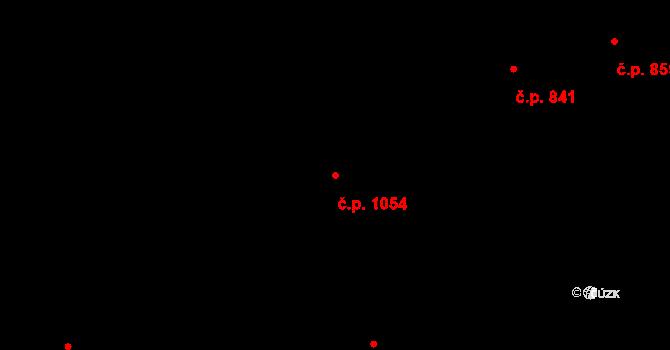 Kadaň 1054 na parcele st. 2534 v KÚ Kadaň, Katastrální mapa