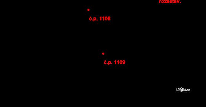 České Budějovice 5 1109, České Budějovice na parcele st. 2494/1 v KÚ České Budějovice 5, Katastrální mapa