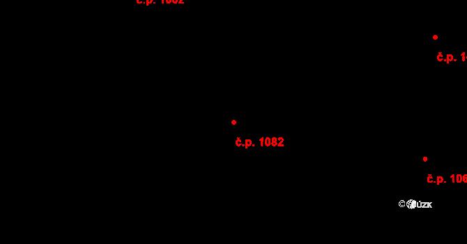 Nivnice 1082 na parcele st. 1981/59 v KÚ Nivnice, Katastrální mapa