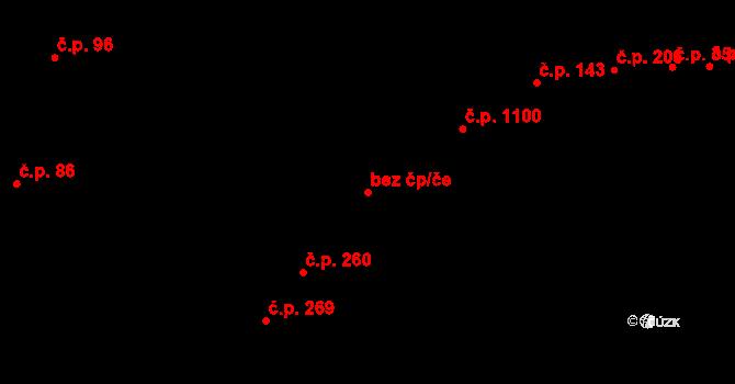 Újezd u Brna 46077821 na parcele st. 205 v KÚ Újezd u Brna, Katastrální mapa