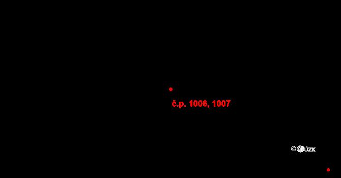 Studánka 1006,1007, Pardubice na parcele st. 944 v KÚ Studánka, Katastrální mapa
