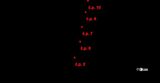 České Budějovice 1 6, České Budějovice na parcele st. 7 v KÚ České Budějovice 1, Katastrální mapa