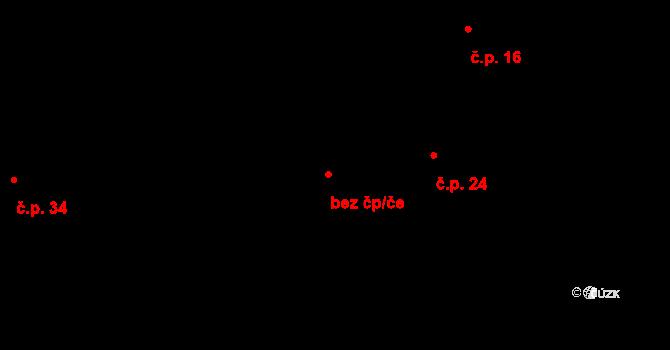 Mohelnice 40605825 na parcele st. 50 v KÚ Mohelnice u Nepomuka, Katastrální mapa