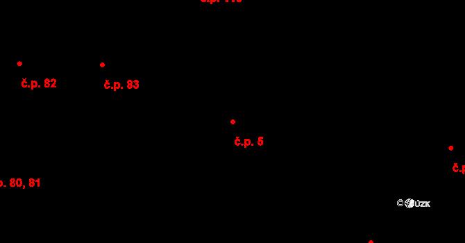 Město 5, Opava na parcele st. 359/2 v KÚ Opava-Město, Katastrální mapa